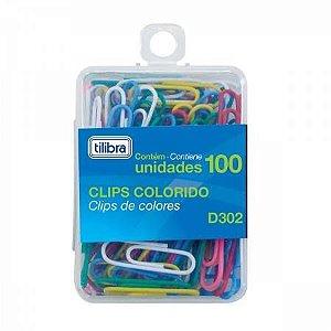 Clips 2/0 Colorido Bl/100 - Tilibra