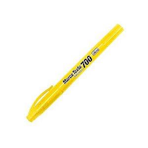 Marca Texto 700 P Duplo  Amarelo - Tilibra