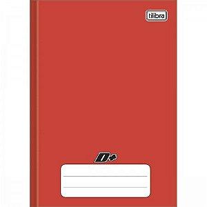 Caderno Universitário Brochura D+ Vermelho 96 Folhas - Tilibra