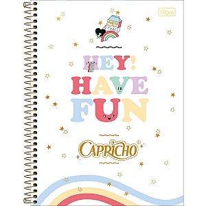 Caderno Universitário Capricho 12M - Tilibra