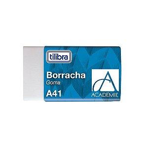 Borracha Branca Pequena A41 Academie - Tilibra
