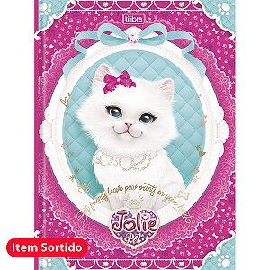 Caderno Brochurão Jolie Pet 80F - Tilibra
