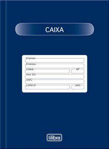 Livro Caixa 1/4 50 Fls- Tilibra