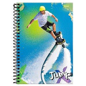Caderno Jump 1/4 Espiral - Foroni