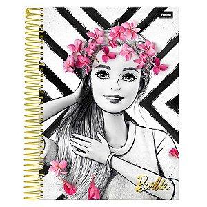 Caderno Barbie Glam 10 Matérias - FORONI