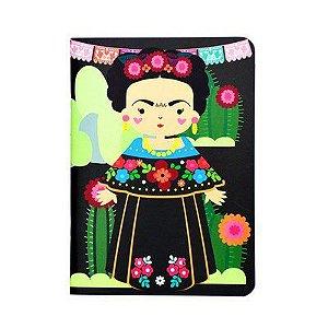 Caderno Pontilhado Me Encanta Frida - Raizler
