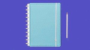 Caderno Azul Celeste - Grande - Caderno inteligente