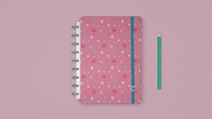 Caderno Lolly Medio - Caderno Inteligente
