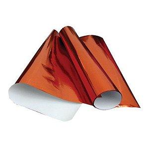 Papel Laminado 48x60 Vermelho