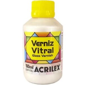 Verniz Vitral Base Madreperola - Acrilex