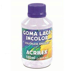 Goma Laca Incolor - Acrilex