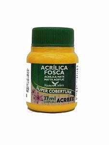 Acrílica Fosca Amarelo Ouro 37ml - Acrilex