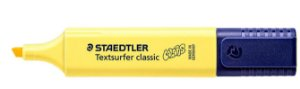 Marca Texto Textsurfer Classic Amarelo brilho -Staedtler