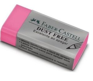 Borracha Dust Free Colors - Faber-Castell