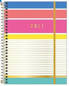 Planner Espiral Be Nice 2021 M7 -Tilibra