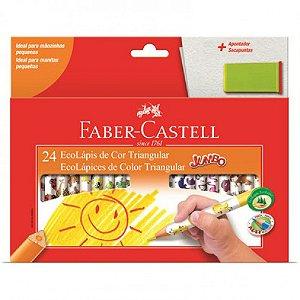 Lápis De Cor Jumbo 24 Cores - Faber-Castell
