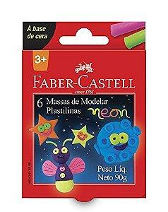 Massinha de Modelar 6 Cores - Faber-Castell
