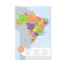 Mapa Brasil Raspadinha - Desembrulha
