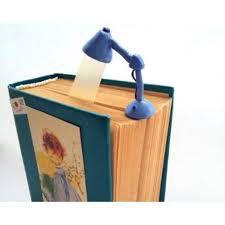 Marcador de Páginas Luminária Azul - Desembrulha