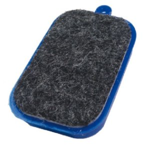 Apagador Magnetico P/ Quadro Branco Plast Azul - Vmp