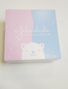 Caixa Surpresa Revelação Bebê Amor - Ludi
