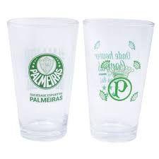 Jogo De 2 Copos Palmeiras - Cebola