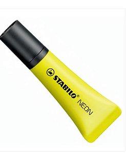 Caneta Marca Texto Neon Amarelo - Stabilo