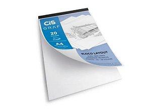 Bloco Layout A4 Desenhos Técnicos - Cis