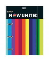 Caderno Argolado Now United - Tilibra