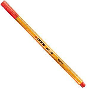 Caneta Point 88/48 Vermelho Claro-Stabilo