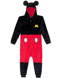 Macacão Kigurumi Infantil Mickey - Zona Criativa