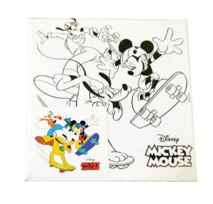 Tela Para Pintura 15x15cm Mickey - VMP