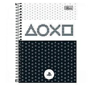 Caderno Universitário Playstation 1 Matéria - Tilibra