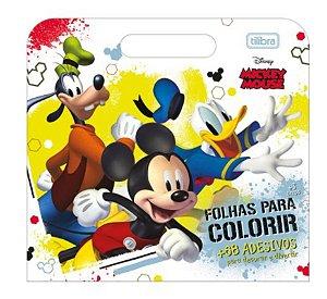 Folhas Para Colorir Mickey Mouse - Tilibra