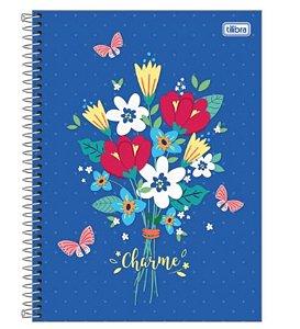 Caderno Universitário Charme 16 Matérias - Tilibra