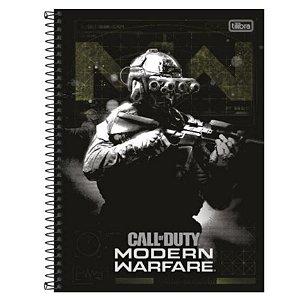 Caderno Universitário Call Duty 10 Matéria - Tilibra