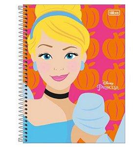 Caderno Universitário Princesas 10 Matérias - Tilibra