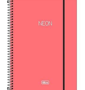 Caderno Universitário Neon 10 Matérias - Tilibra