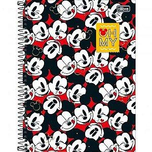 Caderno Universitário Mickey 12 Matérias - Tilibra