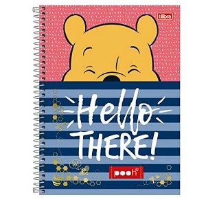 Caderno Universitário Pooh 12 Matérias - Tilibra