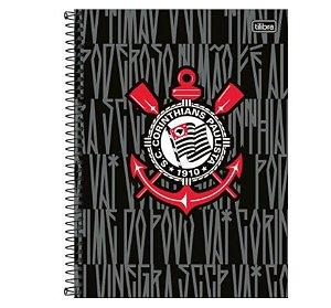 Caderno Universitário Corinthians 16 Matérias - Tilibra