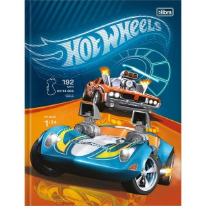 Caderno Universitário Brochura Hot Wheels 48 Folhas  - Tilibra
