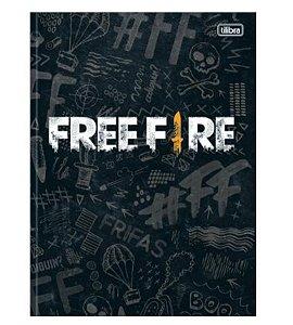 Caderno Universitário Brochura Free Fire 80 Folhas - Tilibra
