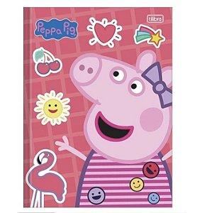 Caderno Universitário Brochura Peppa Pig 80 Folhas - Tilibra