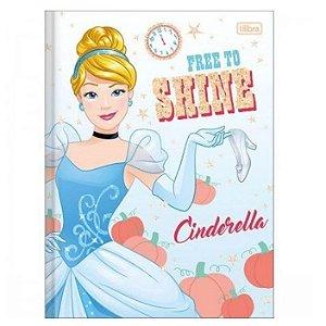 Caderno Universitário Brochura Princesas 80 Folhas - Tilibra