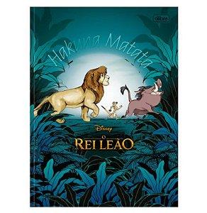 Caderno Universitário Brochura Rei Leão 80 Folhas - Tilibra