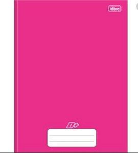 Caderno Universitário Brochura D+ Rosa 48 Folhas - Tilibra