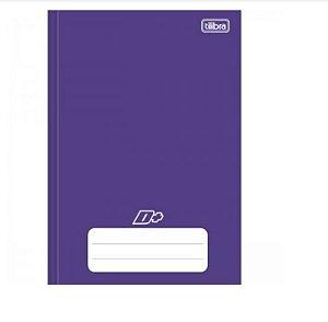 Caderno Universitário Brochura D+ Roxo 96 Folhas - Tilibra