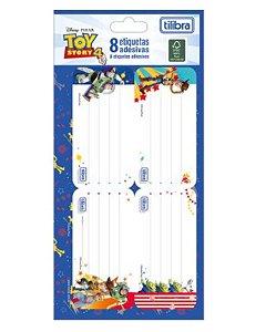 Etiqueta Adesiva Dupla Toy Story - Tilibra