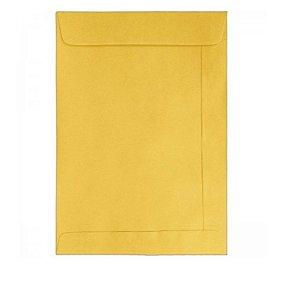 Envelope Saco Kraft Ouro 24X34cm - Tilibra